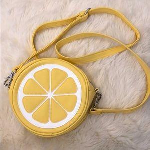 Lemon crossbody bag